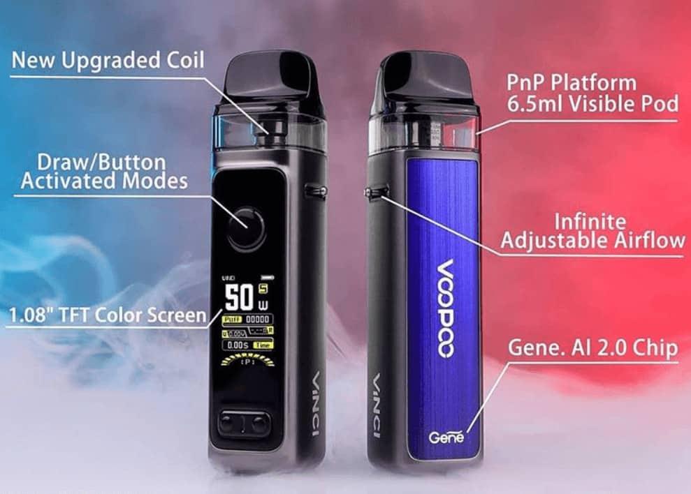 VOOPOO VINCI 2 50W Kit options image