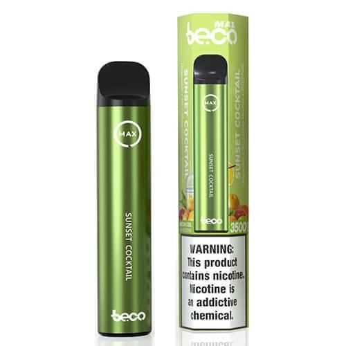 Vaptio Beco MAX - Disposable Vape Device - Sunset Cocktail - Single / 50mg