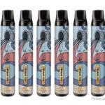 10PCS Authentic Vapeman Solo X Lux 850mAh Disposable E-Cigarette