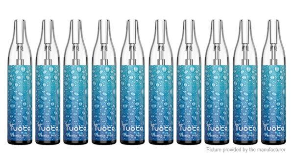 10PCS Authentic Yuoto Bubbles 650mAh Disposable E-Cigarette