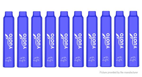 10PCS Authentic Yuoto Smart 350mAh Disposable E-Cigarette
