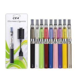 10pcs eGo CE4 Starter Kit Electronic E Cigarette Vapor 1100mah Ego-T Battery 1.6ml Atomizer Tank EVOD MT3 Blister ECig Clearomizer Vape Pen Kit