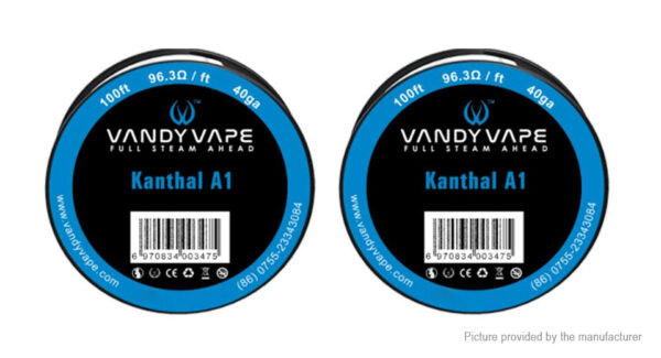 2PCS Authentic Vandy Vape Kanthal A1 Heating Wire