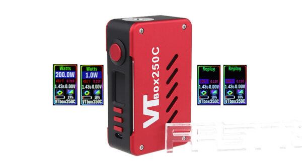 Authentic VapeCige VTBOX250C 200W TC VW APV Box Mod