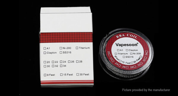 Authentic Vapesoon Kanthal A1 Heating Wire for RBA Atomizer
