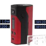 Authentic Wismec Reuleaux RX200 200W TC VW APV Box Mod