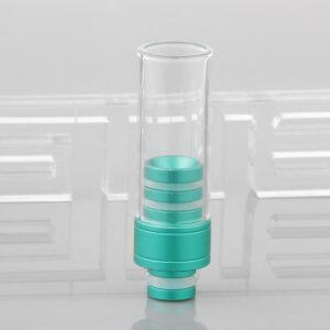 Glass + Aluminum Hybrid 510 Drip Tip