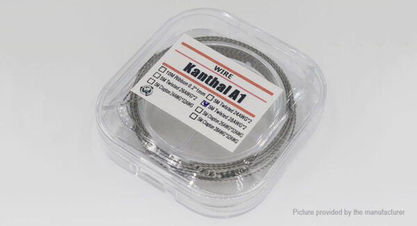 Kanthal A1 Twisted Heating Wire for RBA Atomizers
