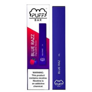 Puff Bar - Disposable Vape Device - Blue Raz - Single / 50mg