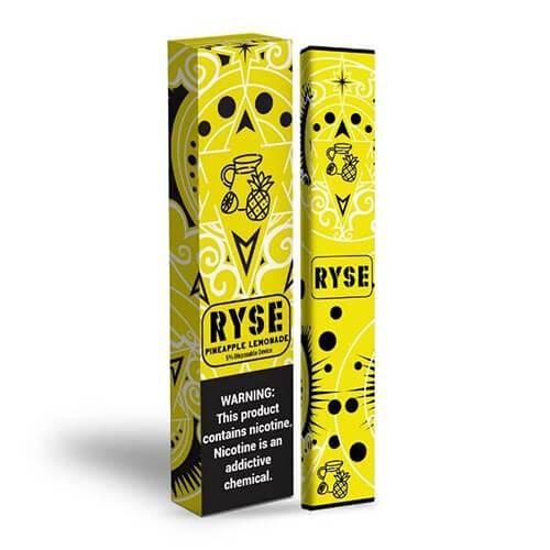 RYSE - Disposable Vape Device - Pineapple Lemonade - Single / 50mg