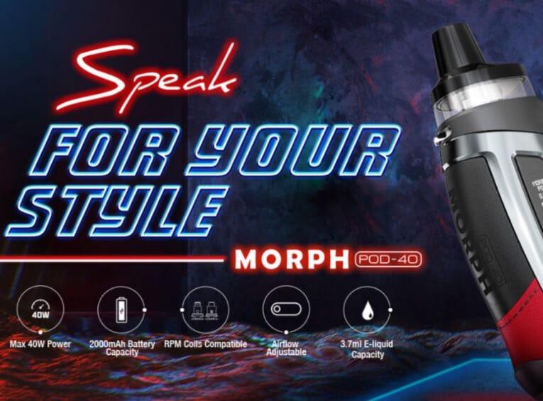 SMOK Morph Pod-40 Kit Review-Max-Quality image