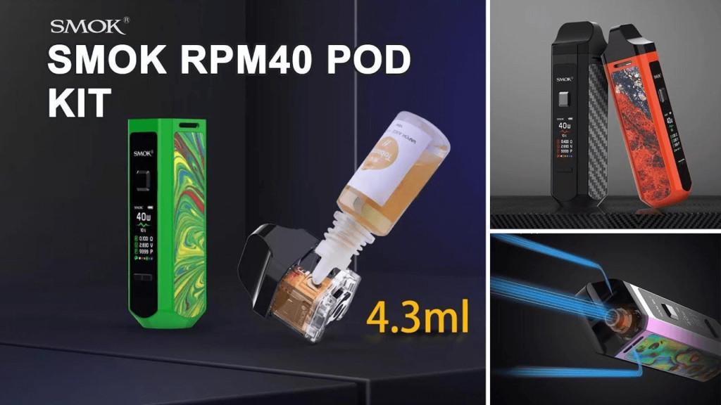 SMOK RPM 4 60W Pod Kit kit image