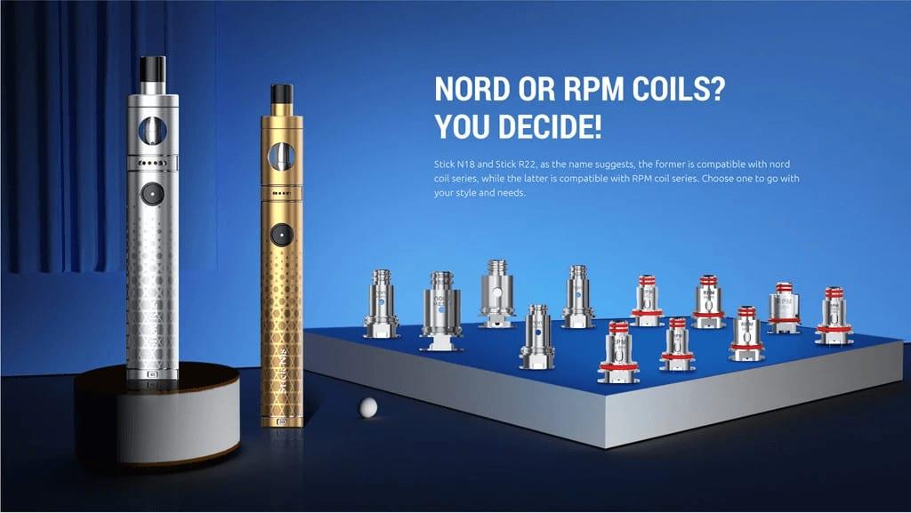 SMOK Stick N18 30W coils image