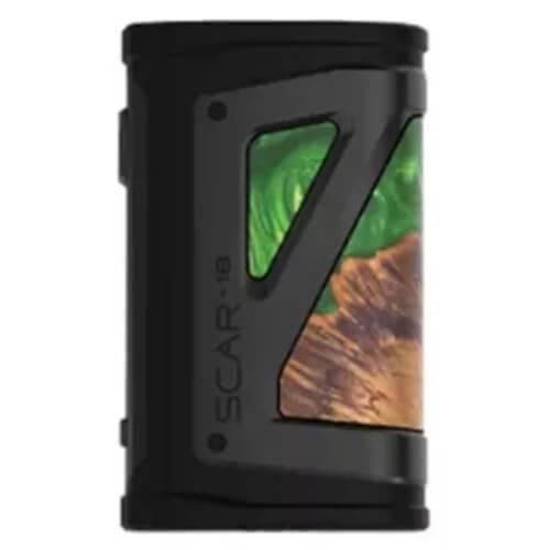 Smok Scar-18 Box Mod - Green Stabilizing Wood
