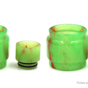 VapeSMOD Replacement Resin Tank + Drip Tip for for SMOK TFV12 Baby Prince (2-Pack)