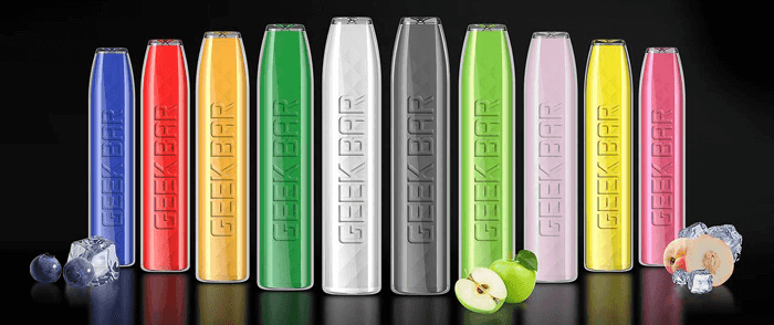 Geekbar Disposable Vape colors image