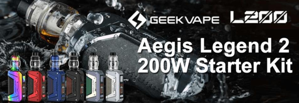Geekvape Aegis Legend 2 banner image