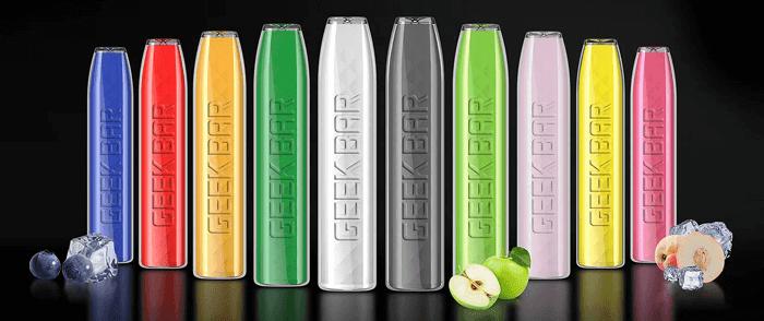 New Geekbar Disposable Vape flavors image