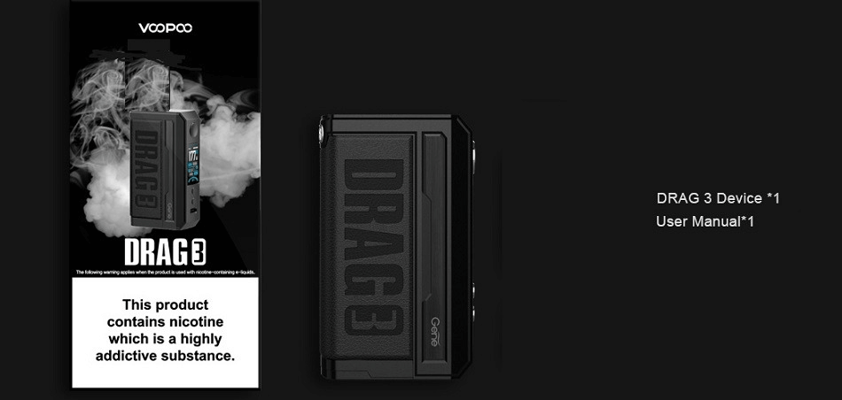 Voopoo Drag 3 177w features image